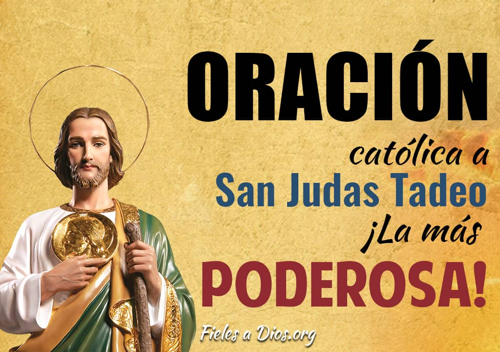 oracion catolica san judas tadeo