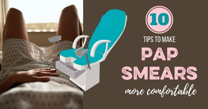 FB 10 Tips Pap Smears More comfortable