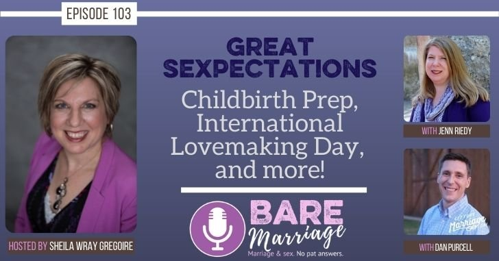 FB Podcast Great Sexpectations Childbirth