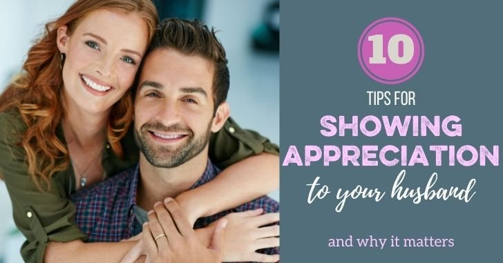 FB 10 Tips Showing Appreciation to Your Husband