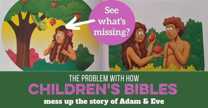 FB Childrens Bibles Mess Up Adam and Eve